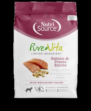 Pure Vita Dry Dog Food Salmon & Potato Formula   Review ...