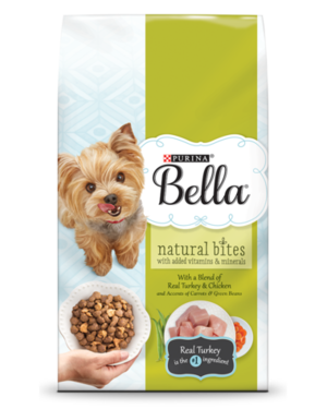 Purina Bella Natural Bites With Real Turkey & Chicken