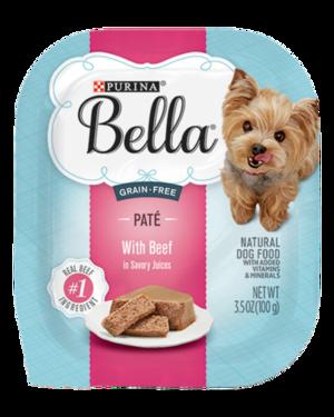 Purina Bella Grain-Free Paté With Beef