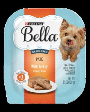 Purina Bella Grain-Free Paté With Turkey