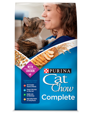 Purina Cat Chow Complete With Chicken Formula