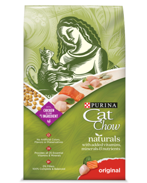 Purina Cat Chow Naturals Original Formula With Real Chicken