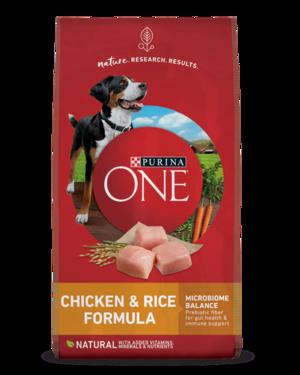 Purina One SmartBlend Chicken & Rice Formula