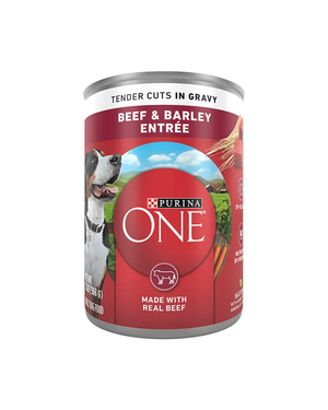 Purina One SmartBlend Beef & Barley Entree (Tender Cuts In Gravy)