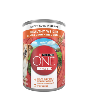 Purina One SmartBlend Lamb & Brown Rice Entree (Tender Cuts In Gravy)