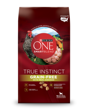 Purina One SmartBlend True Instinct Grain-Free Formula With Real Chicken & Sweet Potato