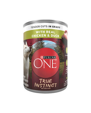 Purina One SmartBlend True Instinct With Real Chicken & Duck (Tender Cuts In Gravy)