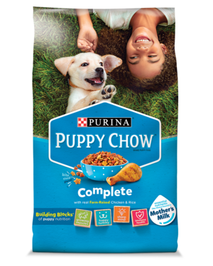 Purina Puppy Chow Complete With Real Chicken & Rice
