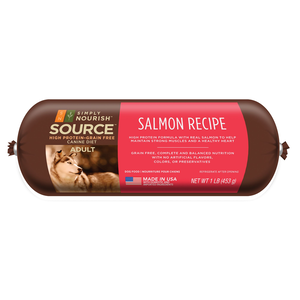 Simply Nourish Source Dog Food Rolls Salmon Recipe For