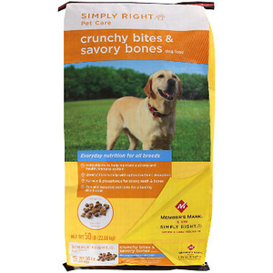 Simply Right Pet Care Crunchy Bites and Savory Bones