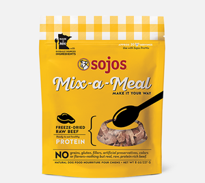 Sojos Mix-a-Meal Freeze-Dried Raw Beef