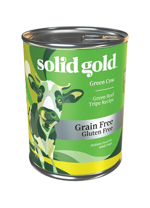 Solid Gold Green Cow Green Beef Tripe Recipe