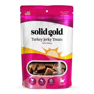 Solid Gold Jerky Treats Turkey Jerky Treats