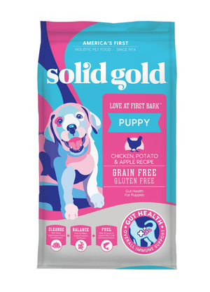 Solid Gold Love at First Bark Chicken, Potatoes & Apples Recipe For Puppies