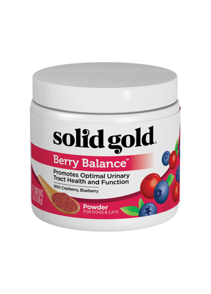 Solid Gold Nutritional Supplement for Dogs & Cats Berry Balance