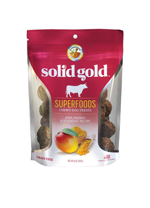 Solid Gold Superfoods Beef, Mango & Turmeric Recipe