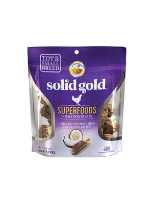 Solid Gold Superfoods Chicken, Coconut Milk & Chia Seed Recipe (Small & Toy Breeds)