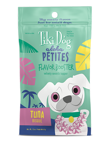 Tiki Dog Aloha Petites Flavor Booster Tuna Bisque Review