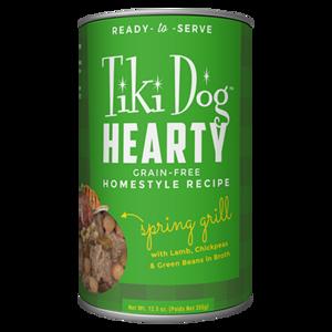 Tiki Dog Hearty Spring Grill Grain-Free Homestyle Recipe