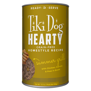 Tiki Dog Hearty Summer Grill Grain-Free Homestyle Recipe