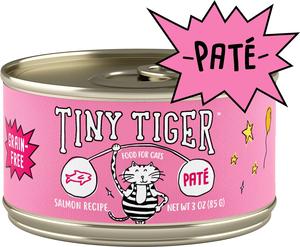 Tiny Tiger Grain-Free Pate Salmon Recipe