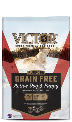 Victor Dog Food Reviews >> Victor Purpose Grain Free Active Dog & Puppy | Review ...