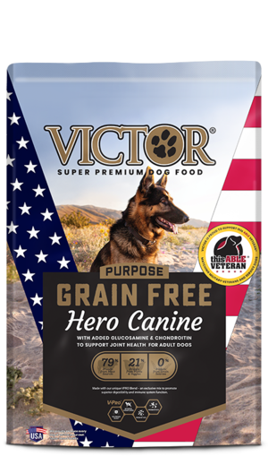 Victor Dog Food Reviews >> Victor Purpose Grain Free Hero Canine