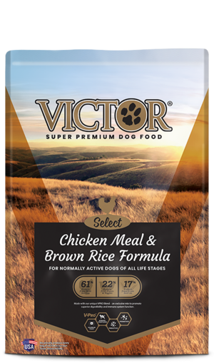 Victor Select Chicken Meal & Brown Rice Formula With Lamb ...