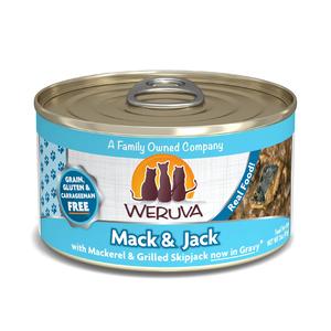 Weruva Canned Cat Food Mack Amp Jack With Mackerel