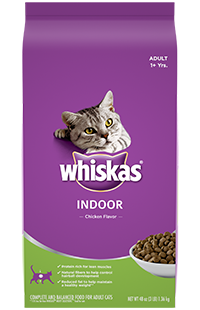 Whiskas Indoor Cat Chicken Flavor