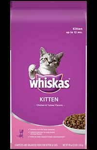 Whiskas Kitten Chicken & Turkey Flavors