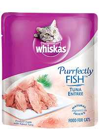 Whiskas Purrfectly Fish Tuna Entree