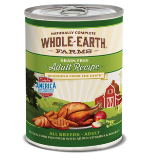 Whole Earth Farms Grain Free Canned Adult Recipe For Dogs