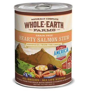 Whole Earth Farms Grain Free Canned Hearty Salmon Stew For Dogs