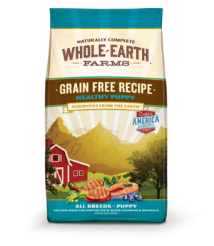 Whole Earth Farms Grain Free Recipe Healthy Puppy