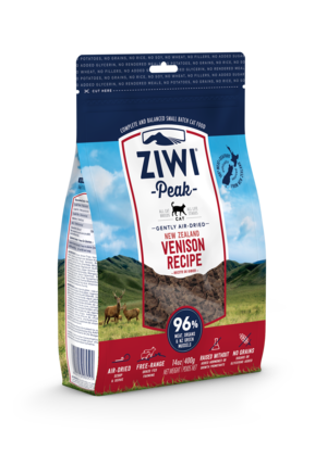 Ziwi Peak Air Dried Cat Food New Zealand Venison Recipe